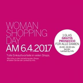 WOMAN SHOPPING DAY
