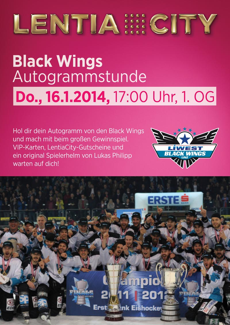 Black Wings Autogrammstunde
